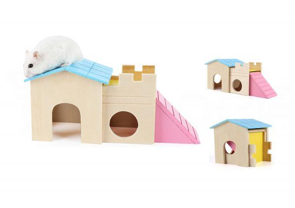 Casa para Hamsters y Pequeños Roedores