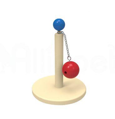Juguete con Bola de Madera