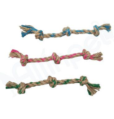Juguete de Cuerda con Tres Nudos