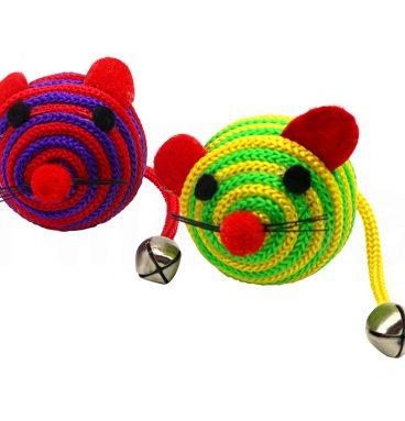 Ratones de Cuerda con Cascabel