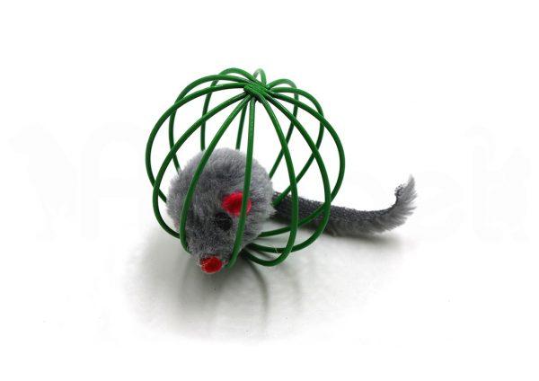 Bola de Mimbre con Ratón