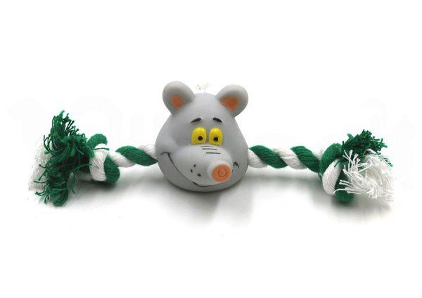 Ratón Juguete con Cuerdas