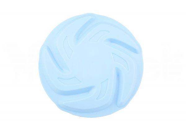 Frisbee de Goma Azul