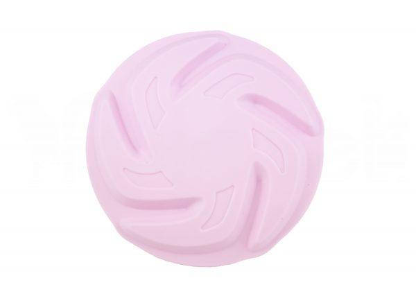 Frisbee de Goma Rosa