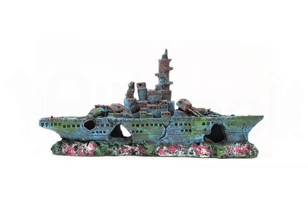 Barco de Guerra Decorativo