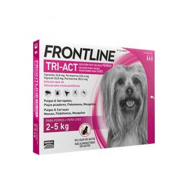 Pipetas Antiparasitarias Frontline Tri-Act