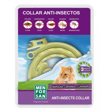 Collar Antiparasitario para Gato Menforsan