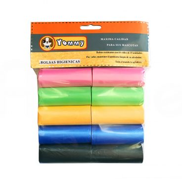 Bolsas Higiénicas de Colores