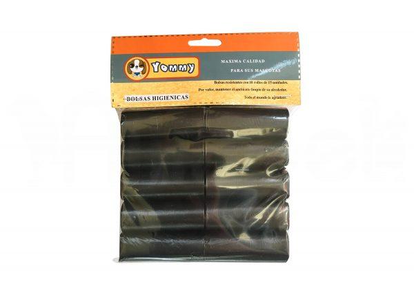 Bolsas Higiénicas de Color Negro