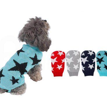 Jersey para Perro con Diseño de Estrellas