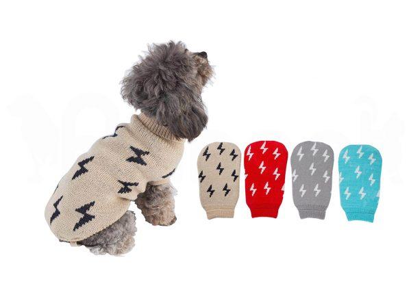 Jersey para Perro con Diseño de Rayos