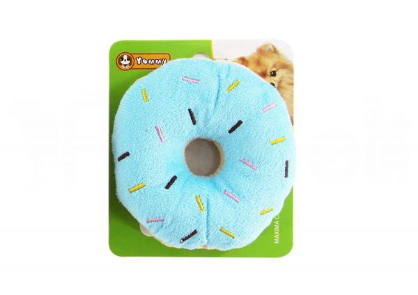 Peluche para Perro con Forma de Donuts