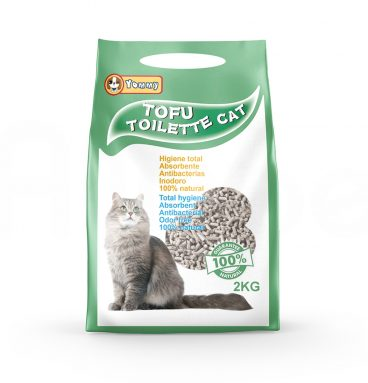 Arena Tofu para Gato