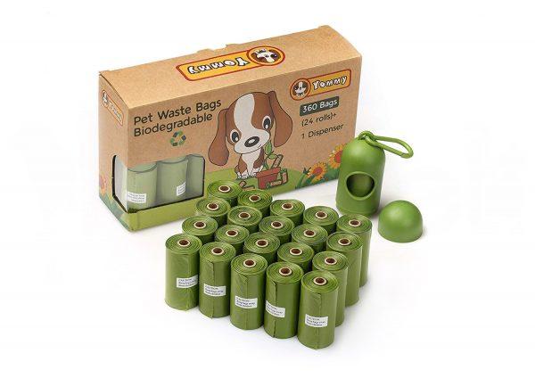 Bolsas Higiénicas Biodegradables con Dispensador