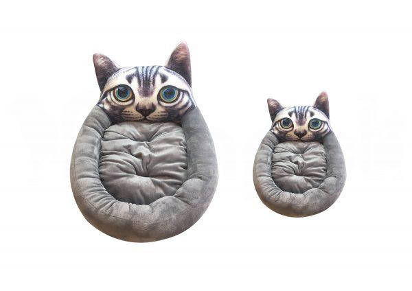 Forma de Gato Gris