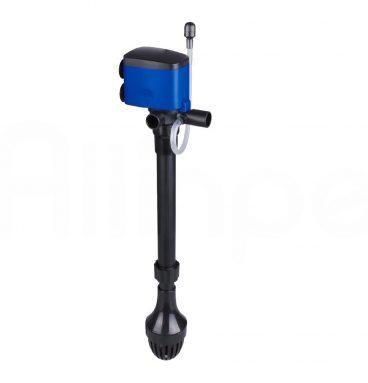 Nuestra novedosa Bomba de Aire para Acuarios o Peceras, es el accesorio ideal para ofrecer a tu acuario un constante fluido de aireación con burbujas